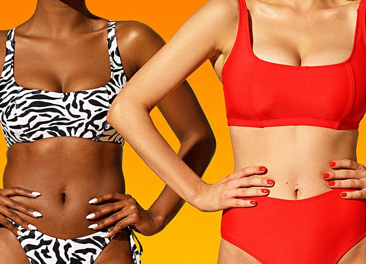 Girls with big tits in bathing suits The 7 Best Swim Brands For Big Boobs Purewow