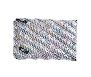 silver pencil case