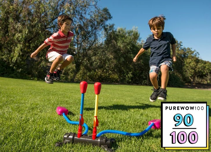 The Dueling Stomp Rocket Is the No-Contact Way to Get Kids Playing Together