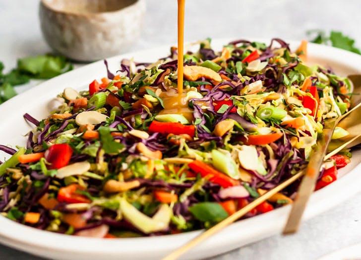 vegan salad dressings cat