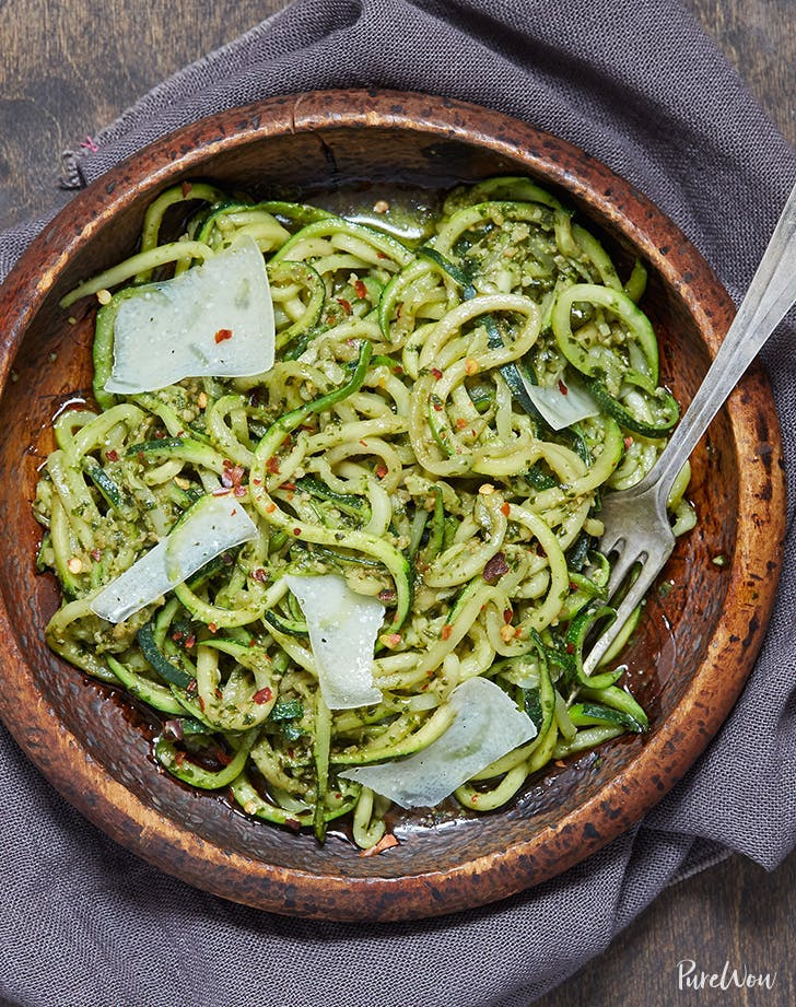 zucchini recipes Pesto Zoodles Recipe