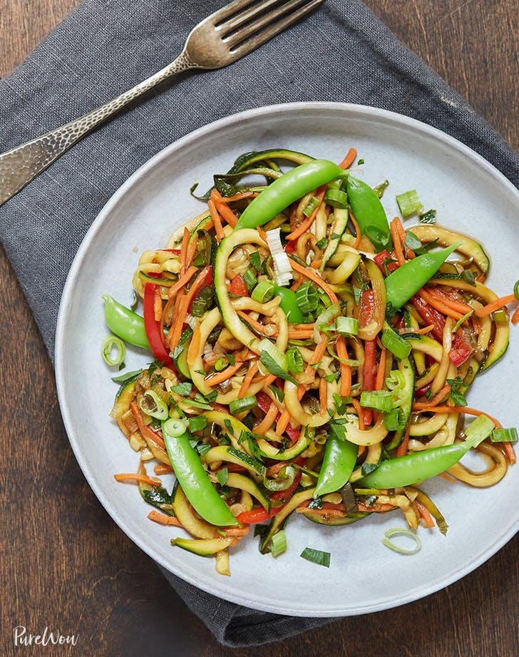 zucchini recipes Zoodle Stir Fry Recipe