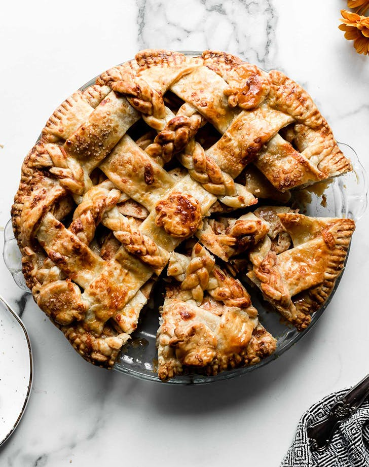 apple pie with cheese apple cheddar pie