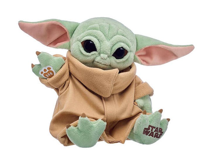 Remember When Baby Yoda Was All We Had to Think About? Well, He's Back—as a Build-a-Bear