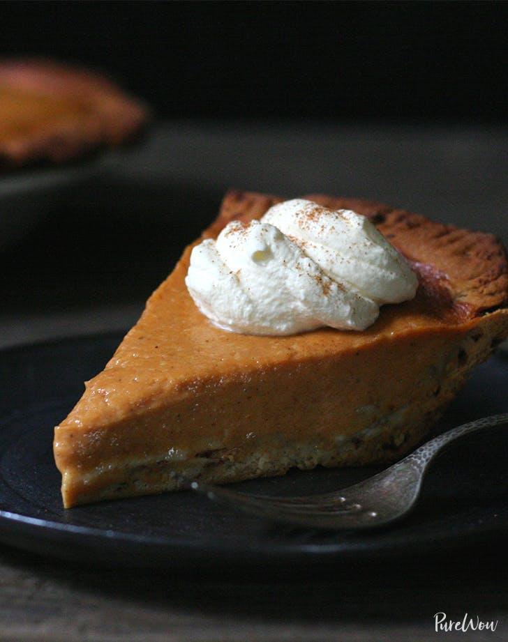 best pie recipes Pumpkin Pie With Cinnamon Roll Crust Recipe