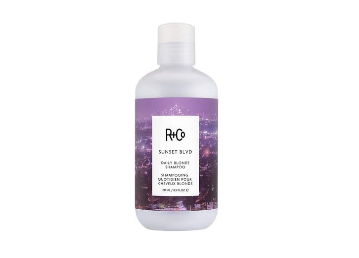 best purple shampoo R Co Sunset Blvd Daily Blonde Shampoo