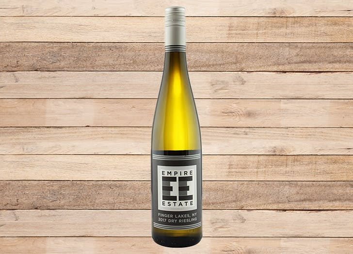 best wine for thanksgiving empire estate finger lakes dry riesling 2017