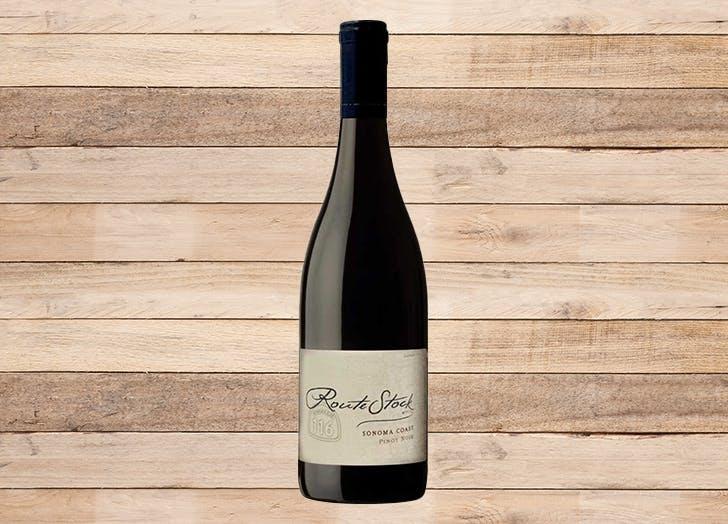 best wine for thanksgiving routestock pinot noir sonoma coast 2017