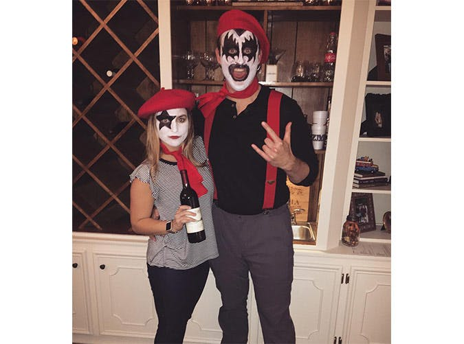 creative halloween costumes french kiss