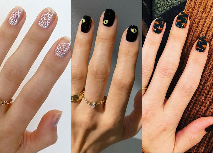 35 Halloween Nail Art Designs To Try This October Purewow