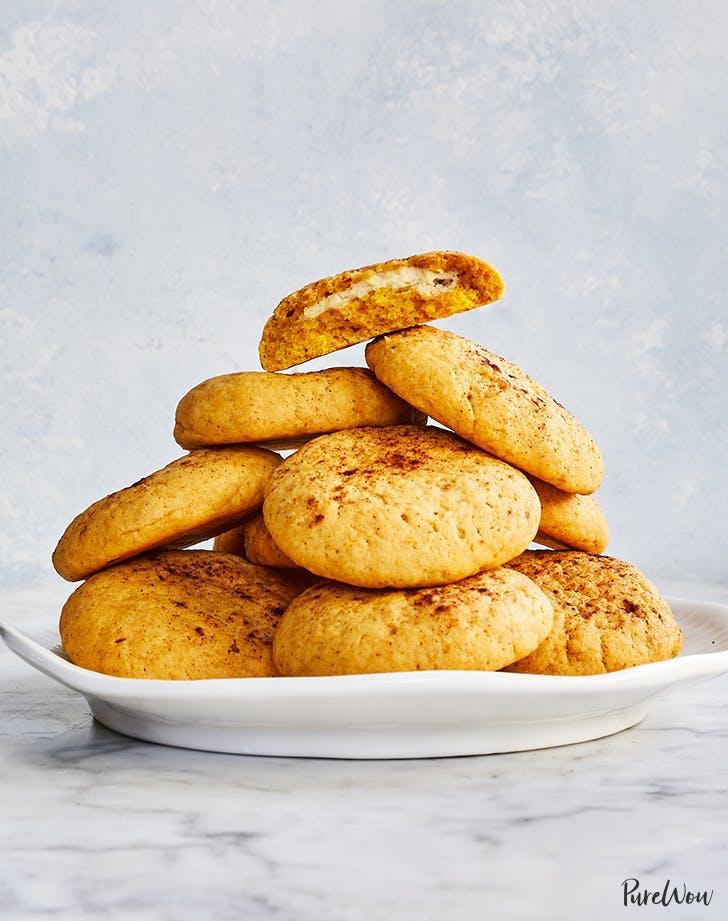 halloween cookies pumpkin cheesecake cookies recipe