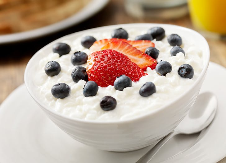 healthiest cheese cottage cheese