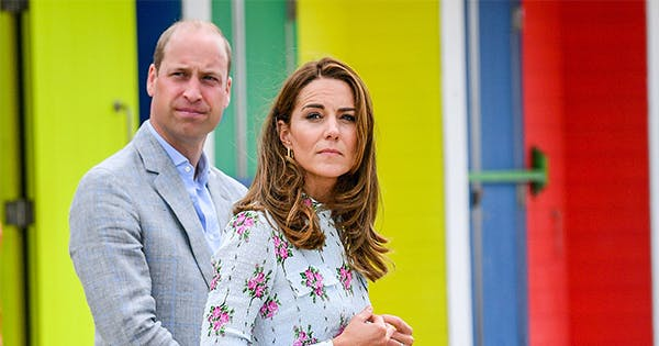 Kate Middleton & Prince William Shared a Rare Moment of PDA & We Almost Missed It