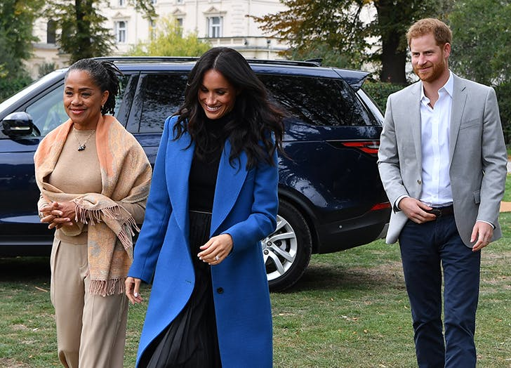 Meghan Markle & Prince Harry Are Reportedly Getting a New Roommate: Meg's Mom, Doria Ragland