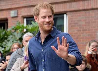 prince harry return to london