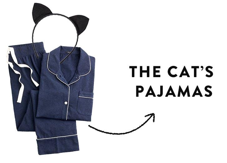 pun costumes cats pjs