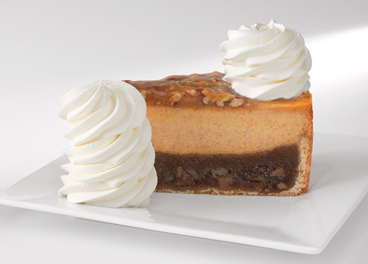The Cheesecake Factory Is Releasing Its Fall Cheesecakes Early, Because We're Officially Ready for Pumpkin Season