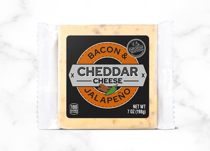what to buy at aldi september Emporium Selection Cheddar Bacon Jalapeno