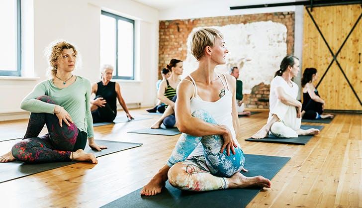 yoga vs pilates yoga class