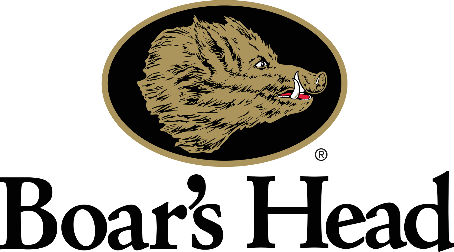 Large PNG Boars Head Logo RGB Stacked Black1
