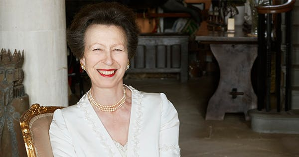 Princess Anne's Face Mask Holds a Very Special Meaning to the Monarchy