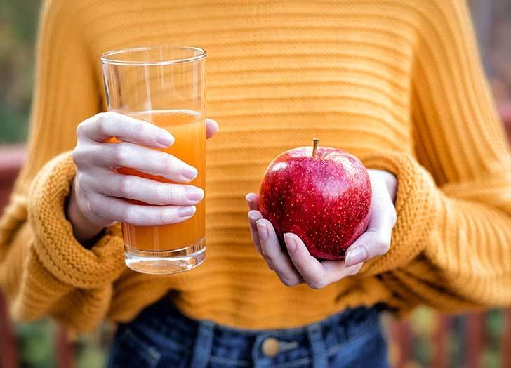apple cider vs apple juice