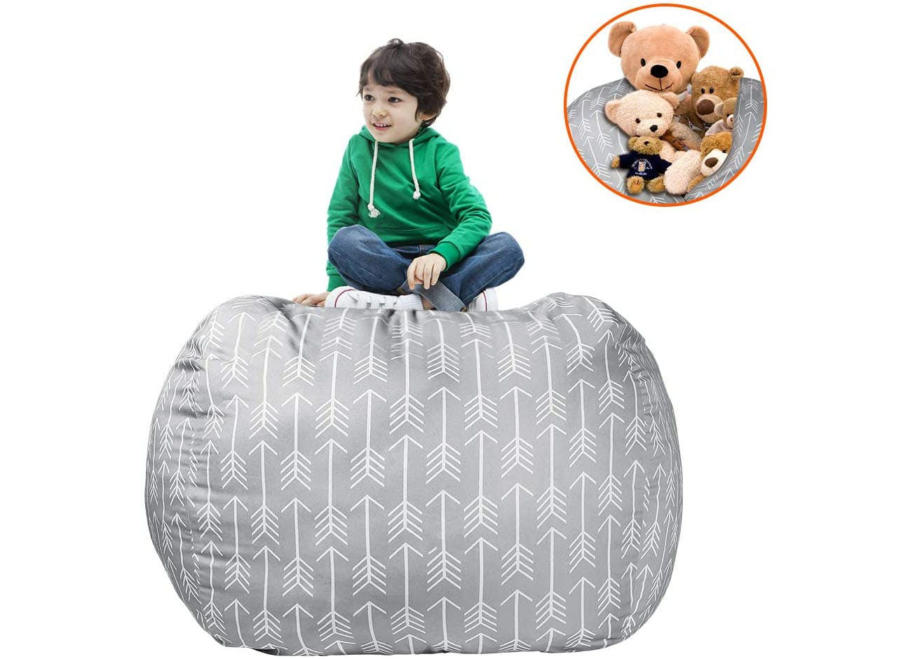 best toy storage bean bag