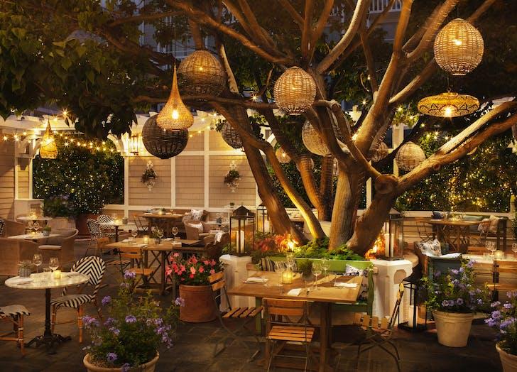 best outdoor restaurants los angeles one pico