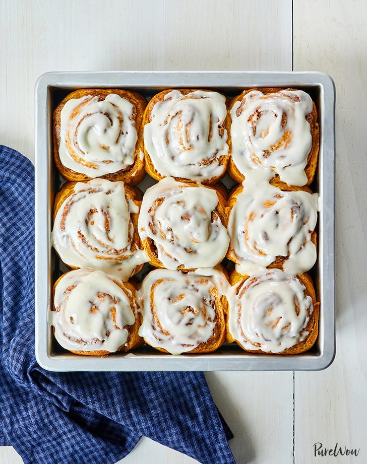 canned pumpkin recipes pumpkin spice pecan rolls recipe