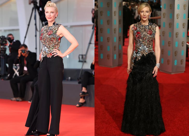 cate blanchett recycled fashion