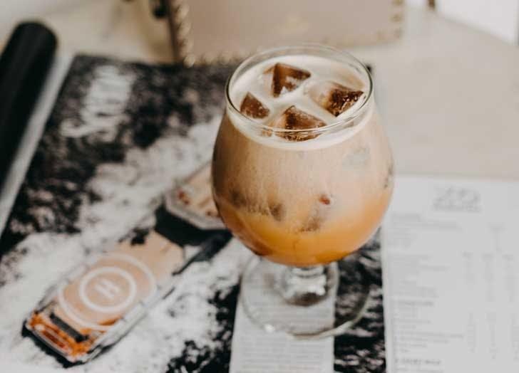 coconut cold brew horchata