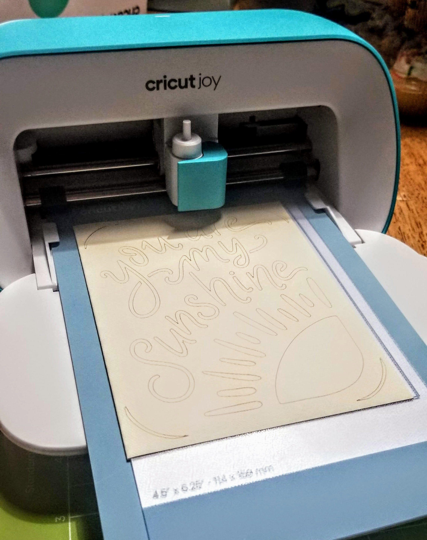 cricut joy review cutting card