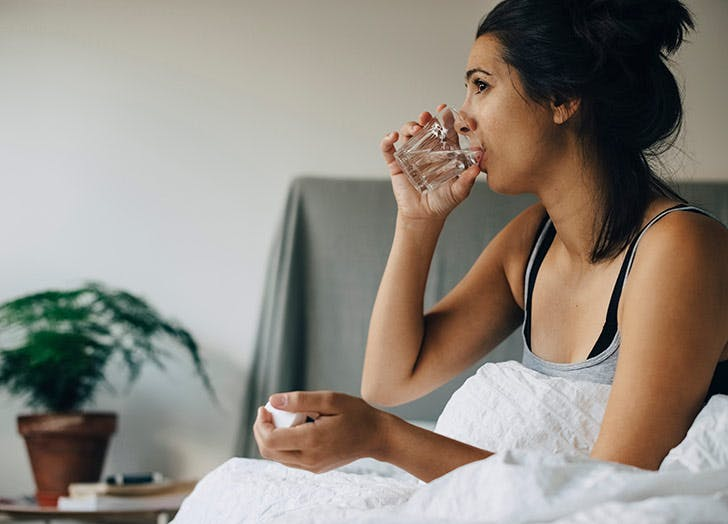 Quick Question: Is It OK to Drink a Bunch of Water Right Before Bed?