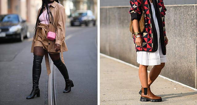 4 Trendy Boot Styles You Should Know for Fall, from Wellies to Thigh-Highs