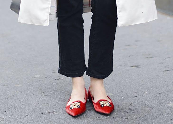 fall shoe trends ballerina flats