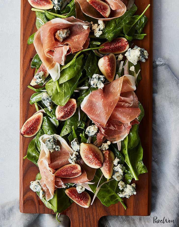 fig recipes fig prosciutto salad board recipe
