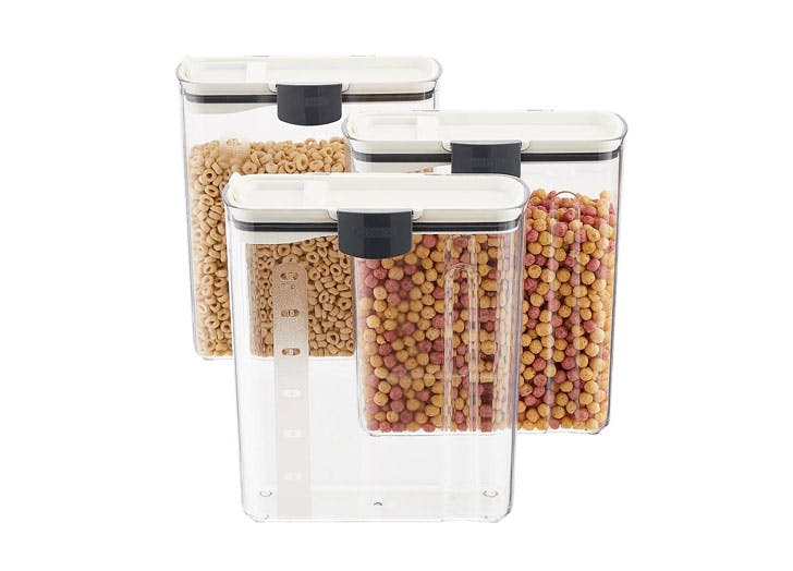 get organized with the home edit cereal dispensers