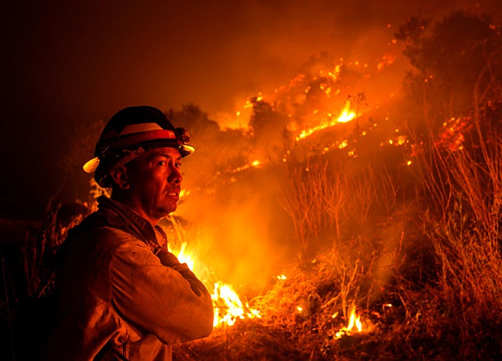 help wildfire victims
