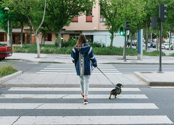 how to manage covid life walking