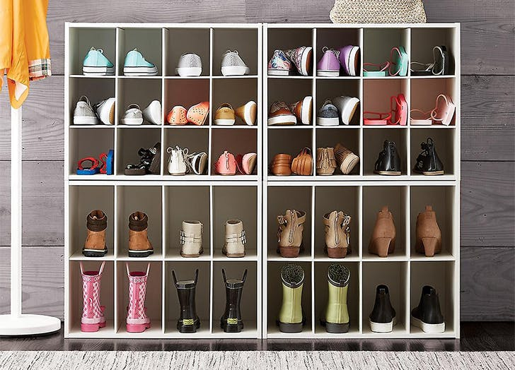 how to store shoes cubbies1