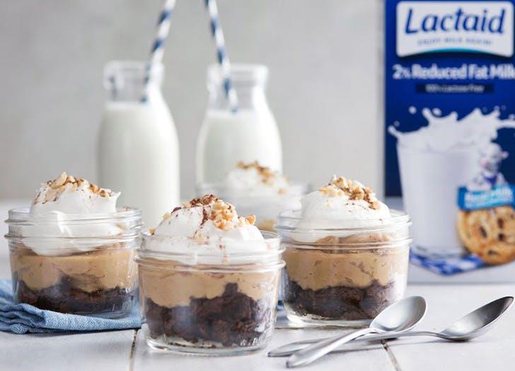 lactose free peanut butter pudding dessert