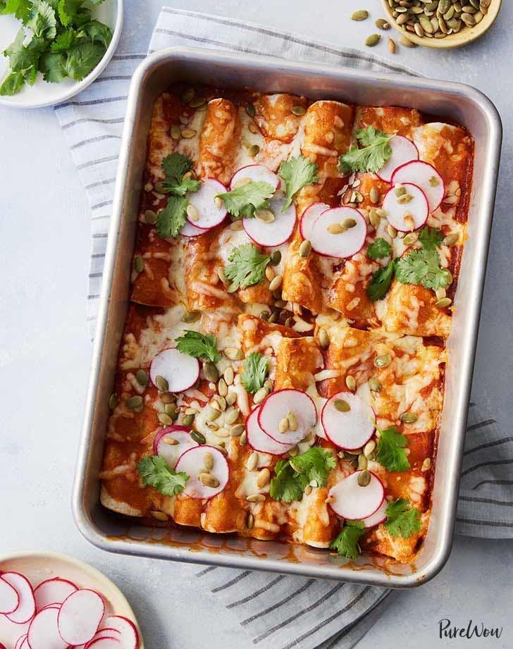 leftover turkey recipes turkey enchiladas
