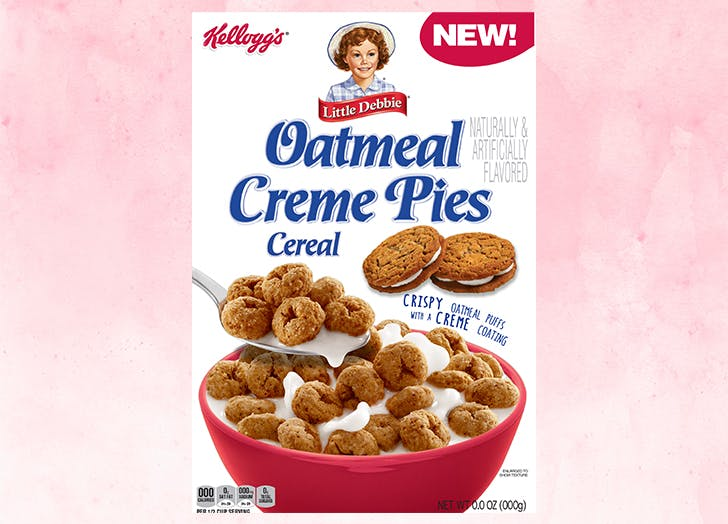 little debbie oatmeal creme pies cereal CAT