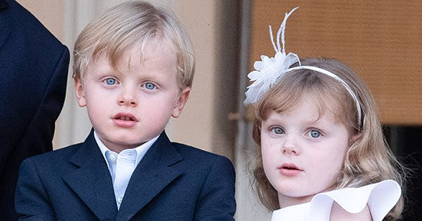 Royal Family of Monaco Shares Candid Photo of Twins' First Day of School