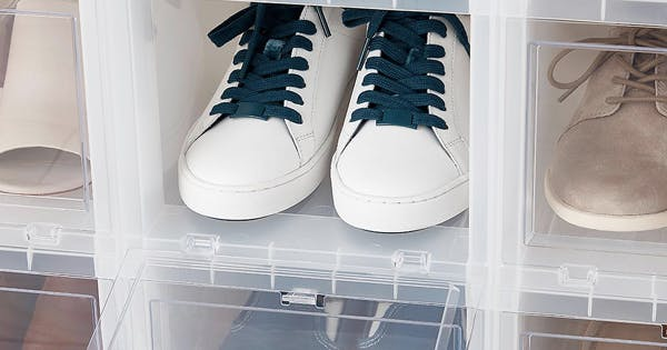 Here's What a Pro Organizer Would Buy from the Container Store to Revamp a Messy Closet