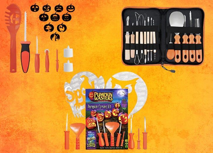 pumpkin carving kits cat