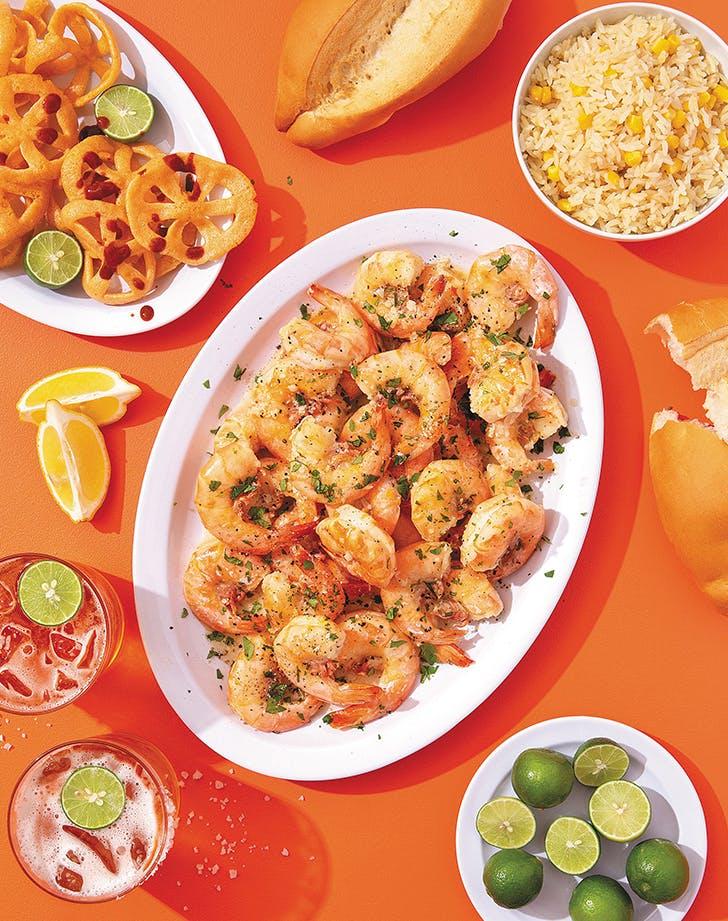 Camarones al Mojo de Ajo (Shrimp in Garlic Sauce)