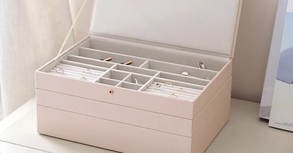We Found a Dupe for the Incredible Jewelry Box Featured on 'The Home Edit' (And It's On Sale)