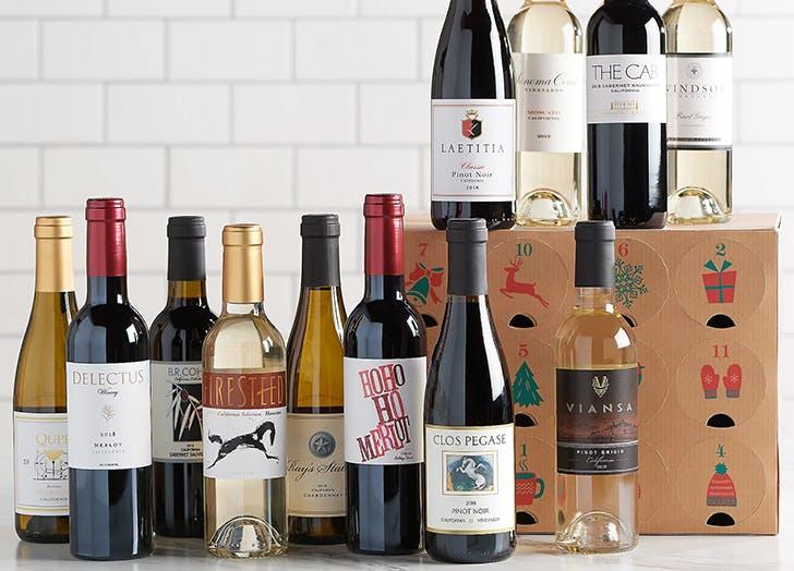 alcohol advent calendars qvc vintage wine estate CAT