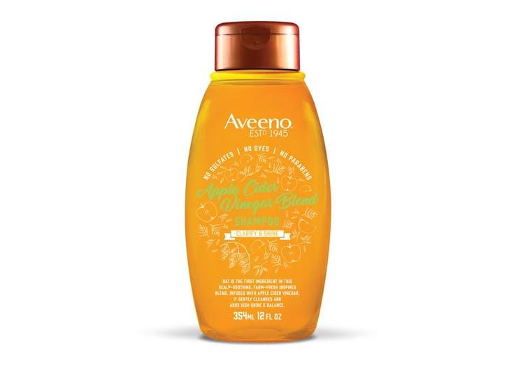 best drugstore shampoo Aveeno Apple Cider Vinegar Blend Shampoo